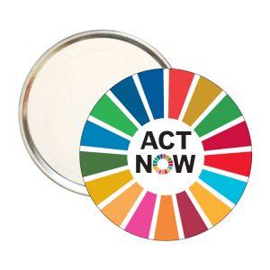 ESPEJO REDONDO ACT NOW ODS SDG DESARROLLO SOSTENIBLE-#1