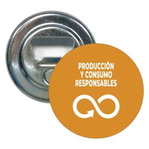 869 ABRIDOR REDONDO ODS SDG DESARROLLO SOSTENIBLE PRODUCCION Y CONSUMOS RESPONSABLES