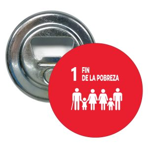 ABRIDOR REDONDO ODS SDG DESARROLLO SOSTENIBLE 1 FIN DE LA POBREZA