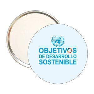 ESPEJO REDONDO ODS SDG DESARROLLO SOSTENIBLE