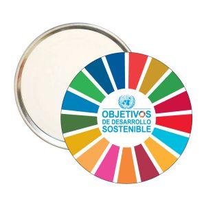 ESPEJO REDONDO ODS SDG DESARROLLO SOSTENIBLE #2