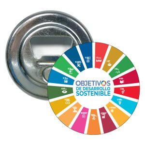 ABRIDOR REDONDO ODS SDG DESARROLLO SOSTENIBLE #3